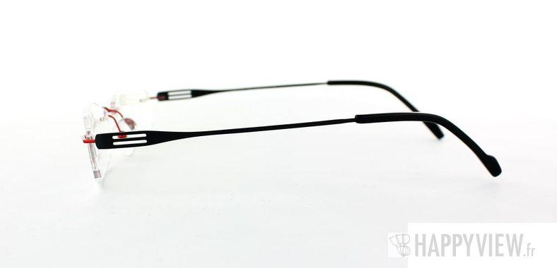 Lunettes de vue Starvision by Seiko Starvision 1014 Titane rouge/noir - vue de côté