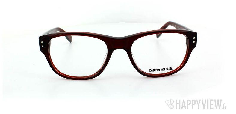 Lunettes de vue Zadig&Voltaire Zadig&Voltaire 1004 rouge - vue de face