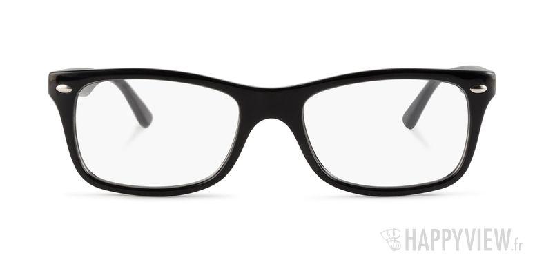 Lunettes de vue Ray-Ban RX 5228 noir - vue de face