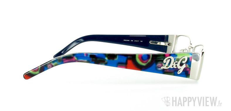 Lunettes de vue Dolce & Gabbana D&G 5049 autre/argenté - vue de côté