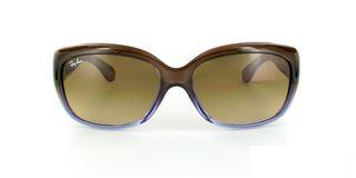 Lunettes de soleil Ray-Ban Ray-Ban Jackie OHH RB4101 bleu/marron