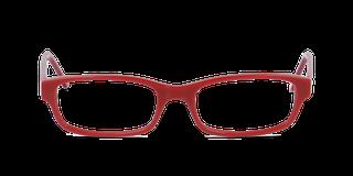 Lunettes de vue Happyview SASHA rouge fabriquées en France
