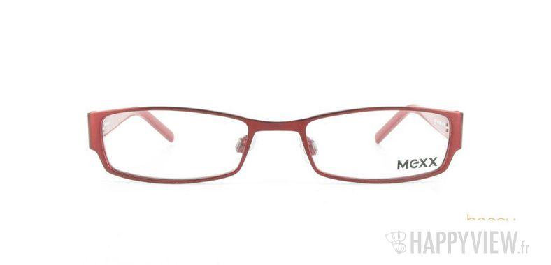 Lunettes de vue Mexx Mexx 5050 rouge - vue de face