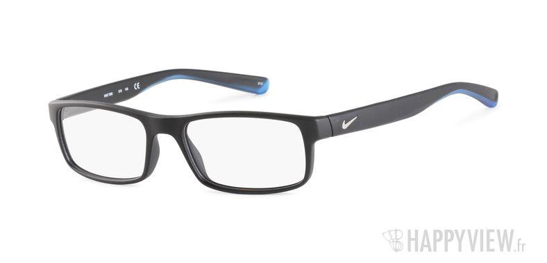 Lunettes de vue Nike 7090 bleu/noir - vue de 3/4