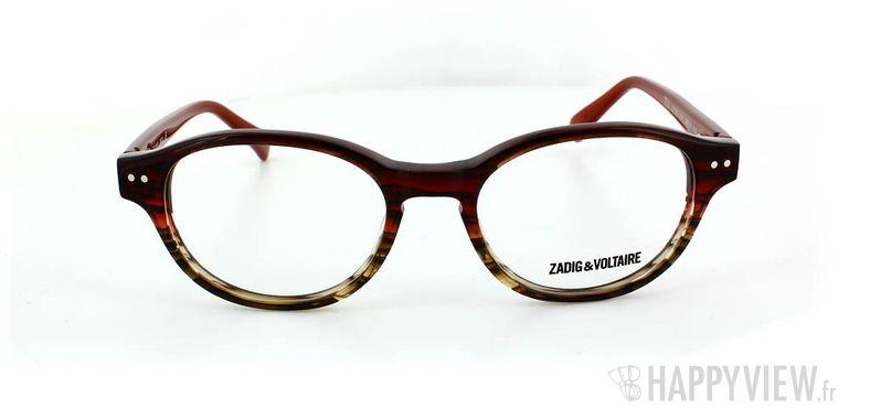 Lunettes de vue Zadig&Voltaire Zadig&Voltaire 1007 rouge - vue de face