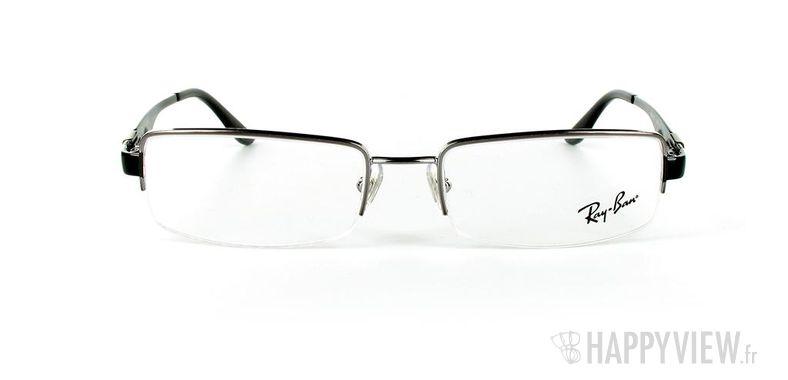 Lunettes de vue Ray-Ban Ray-Ban RX6156 noir - vue de face