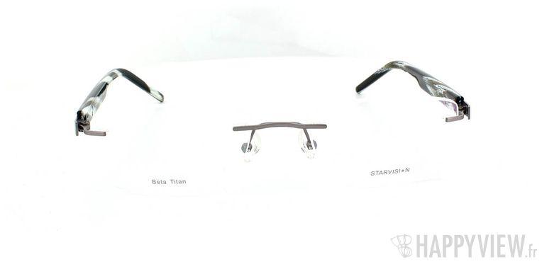 Lunettes de vue Starvision by Seiko Starvision 1026 Titane gris - vue de face