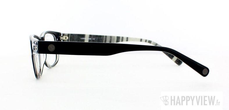 Lunettes de vue Levi's Levi's 2024 Tissu noir - vue de côté