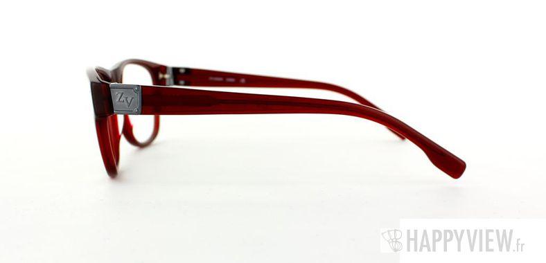Lunettes de vue Zadig&Voltaire Zadig&Voltaire 3004 rouge - vue de côté