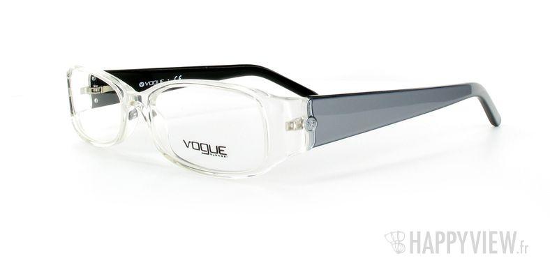 Lunettes de vue Vogue Vogue 2650 gris/argenté - vue de 3/4