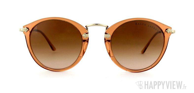 Lunettes de soleil Ralph Lauren Ralph Lauren 8086 marron/doré - vue de face