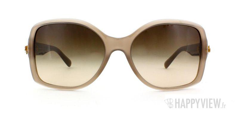 Lunettes de soleil Dolce & Gabbana Dolce & Gabbana 4168 marron - vue de face