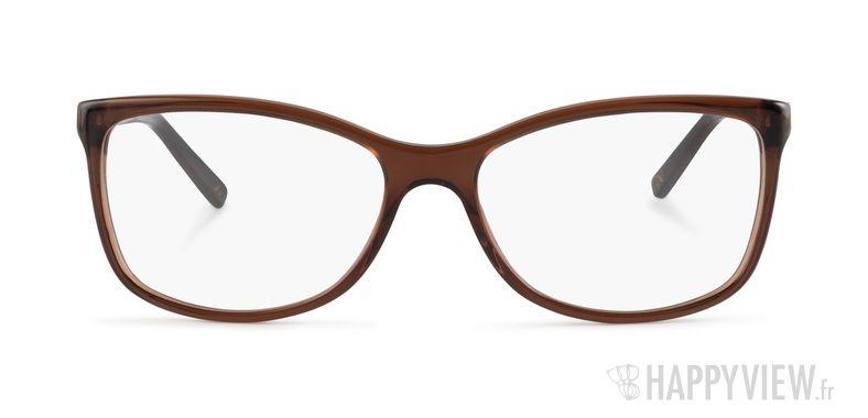 Lunettes de vue Dolce & Gabbana DG 3107 marron - vue de face
