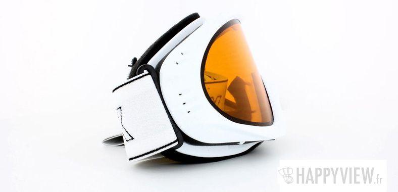 Lunettes de soleil Uvex Uvex Cevron Medium blanc - vue de côté