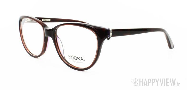 Lunettes de vue Kookaï Kookai 101 marron - vue de 3/4
