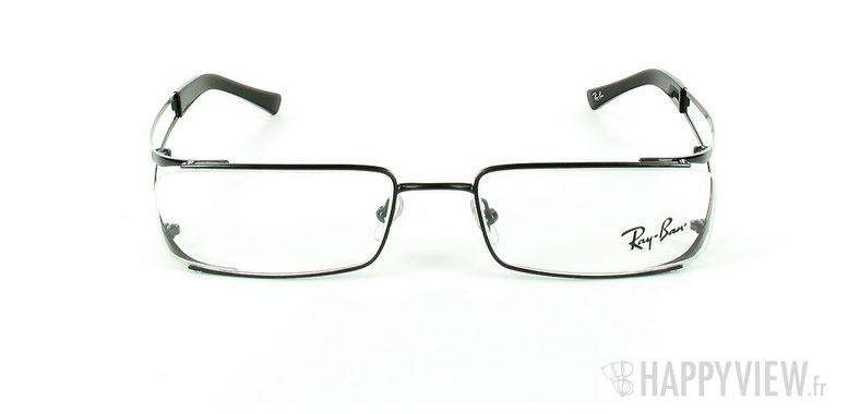 Lunettes de vue Ray-Ban Ray-Ban RX6108 noir - vue de face