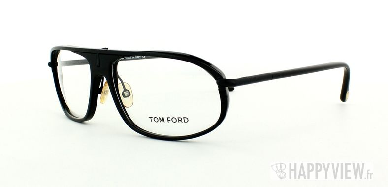 Lunettes de vue Tom Ford Tom Ford 5047 noir - vue de 3/4