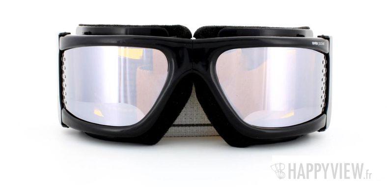 Lunettes de soleil Uvex Uvex Pocket Medium noir - vue de face