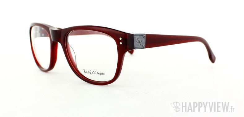 Lunettes de vue Zadig&Voltaire Zadig&Voltaire 3004 rouge - vue de 3/4