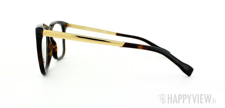 Lunettes de vue Dolce & Gabbana D&G 1231 écaille/doré - vue de côté