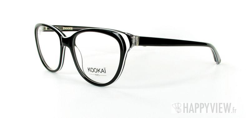 Lunettes de vue Kookaï K 101 noir - vue de 3/4