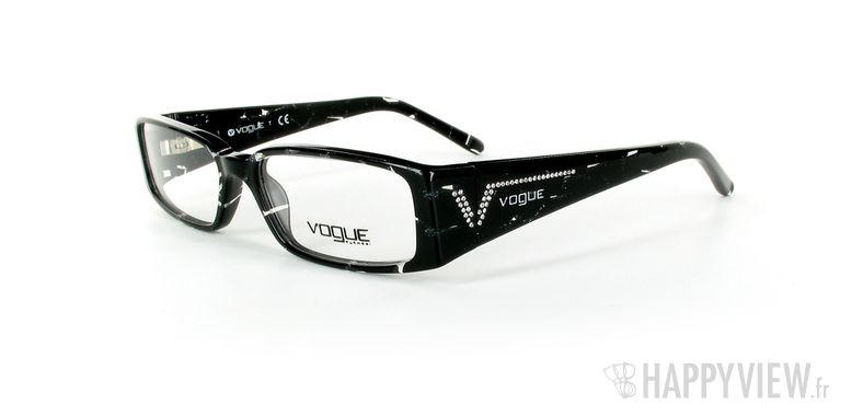 Lunettes de vue Vogue Vogue 2557B noir/gris - vue de 3/4
