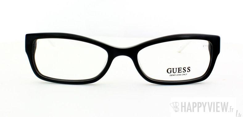 Lunettes de vue Guess Guess 2261 blanc/noir - vue de face