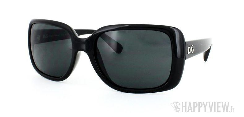 Lunettes de soleil Dolce & Gabbana Dolce&Gabbana 8067 noir - vue de 3/4