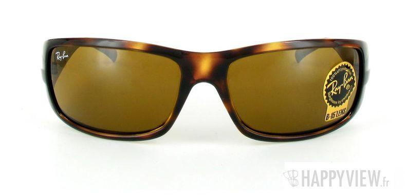 Lunettes de soleil Ray-Ban Ray-Ban RB4057 écaille - vue de face