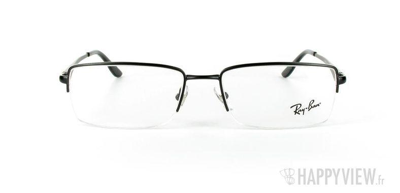 Lunettes de vue Ray-Ban Ray-Ban RX6154 noir - vue de face