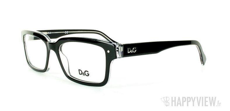 Lunettes de vue Dolce & Gabbana D&G 1176 noir - vue de 3/4
