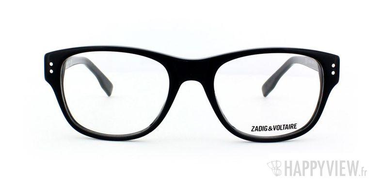 Lunettes de vue Zadig&Voltaire Zadig&Voltaire 1004 noir - vue de face