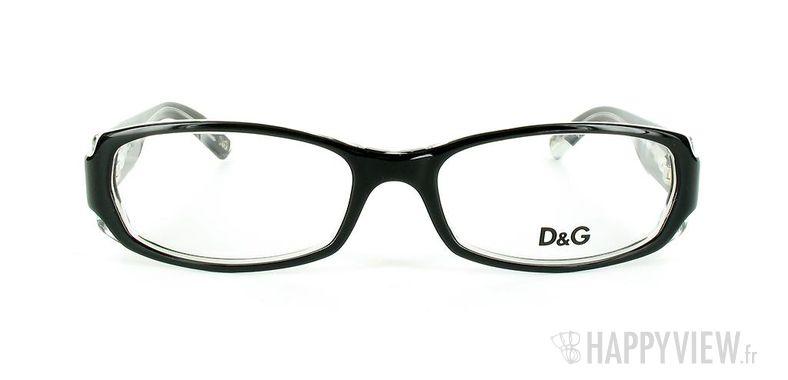 Lunettes de vue Dolce & Gabbana D&G 1172 noir - vue de face