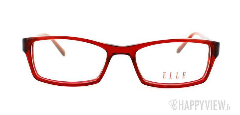 Lunettes de vue Elle Elle 13328 rouge - vue de face