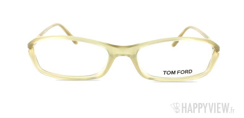 Lunettes de vue Tom Ford 5019 marron - vue de face