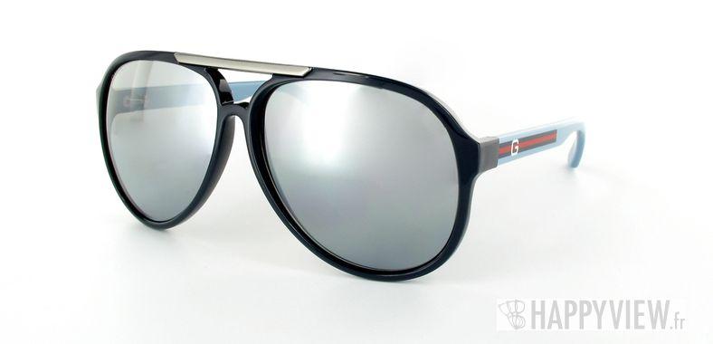 Lunettes de soleil Gucci Gucci 1627 bleu - vue de 3/4
