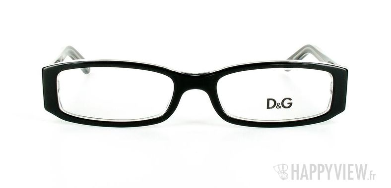 Lunettes de vue Dolce & Gabbana D&G 1179 noir - vue de face