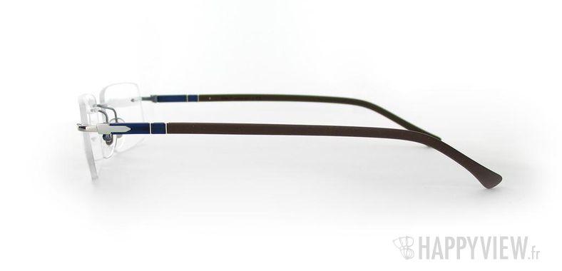 Lunettes de vue Persol Persol 2404V marron/argenté - vue de côté