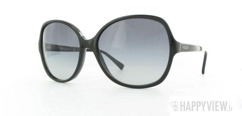 Lunettes de soleil Vogue Vogue 2608S noir - vue de 3/4