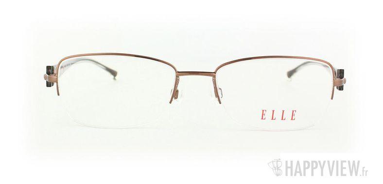 Lunettes de vue Elle Elle 13329 marron - vue de face