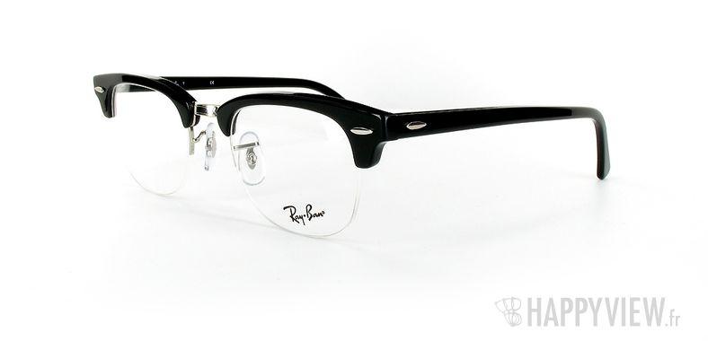 Lunettes de vue Ray-Ban Ray-Ban RX5201 New Clubmaster noir - vue de 3/4