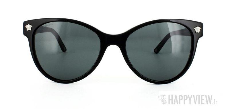 Lunettes de soleil Versace Versace VE4214 noir - vue de face