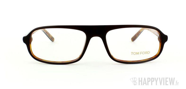 Lunettes de vue Tom Ford Tom Ford 5165 Small marron/écaille - vue de face