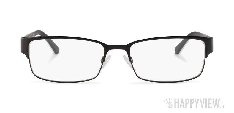 Lunettes de vue Emporio Armani EA 1036 noir/blanc - vue de face
