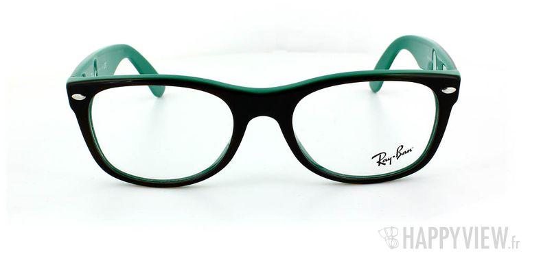 Lunettes de vue Ray-Ban Ray-Ban RX5184 New Wayfarer vert/écaille - vue de face