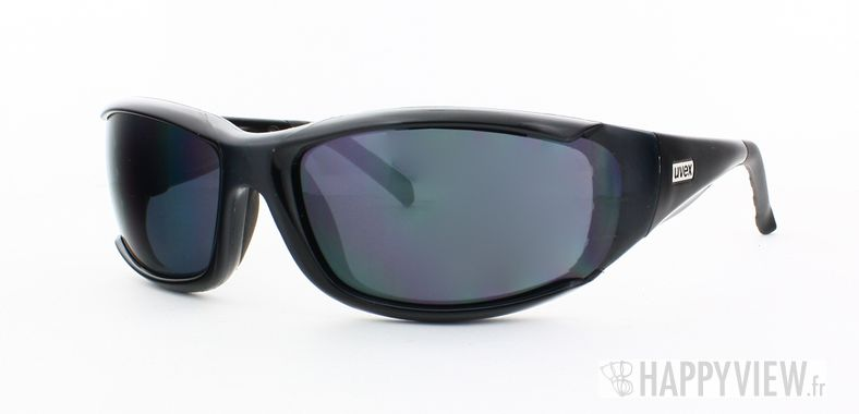 Lunettes de soleil Uvex Uvex Forceflex Incassable noir - vue de 3/4