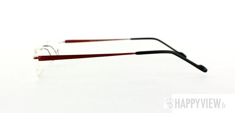 Lunettes de vue Starvision by Seiko Starvision 1009 Titane rouge - vue de côté