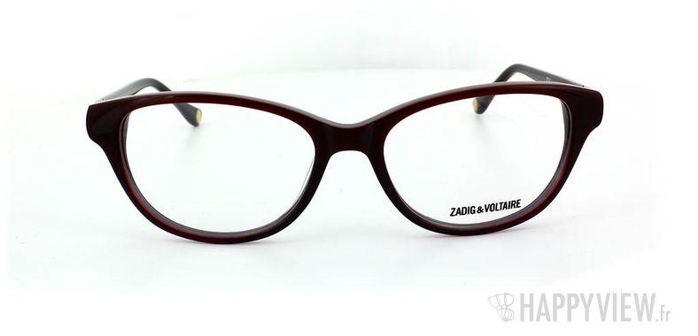 Lunettes de vue Zadig&Voltaire Zadig&Voltaire 2034 rouge - vue de face