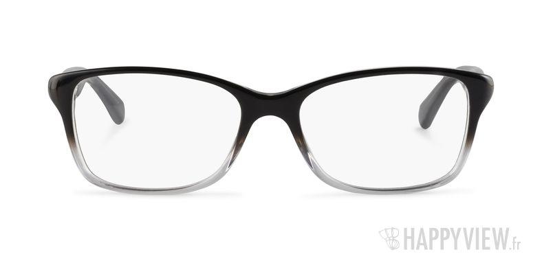 Lunettes de vue Dolce & Gabbana DD 1246 noir - vue de face