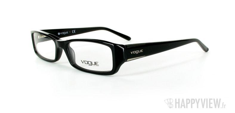 Lunettes de vue Vogue Vogue 2648 noir - vue de 3/4